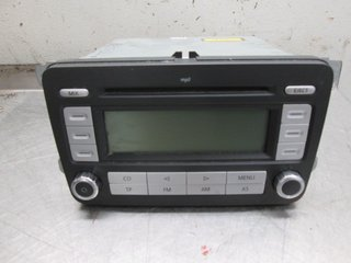 Radio CD / Multimediapanel - VW Caddy -09 1K0057186PX RCD300 1K0035186AF