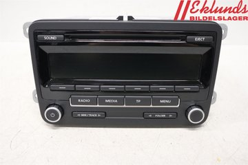 Radio CD / Multimediapanel - VW Caddy -15  28445305 1K0035186AN
