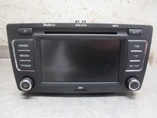 Radio CD / Multimediapanel - Skoda Octavia -10 1Z0035156F 7648258360 1Z0035156F