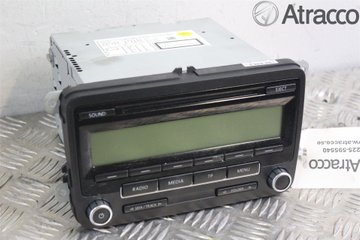 Radio CD / Multimediapanel - VW Golf, e-Golf -09 1K0057187AX  1K0035186AA