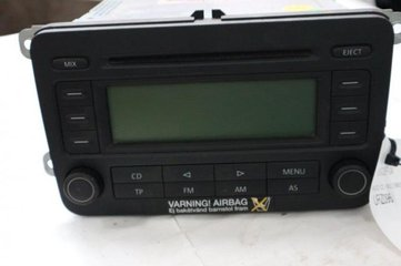 Radio CD / Multimediapanel - VW Golf, e-Golf -04  1K0035186
