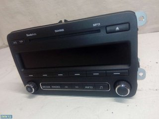 Radio CD / Multimediapanel - Skoda Fabia -10  5J0035161C