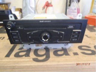Radio CD / Multimediapanel - Audi A4, S4 -09 014AUZ5Z6H1066406