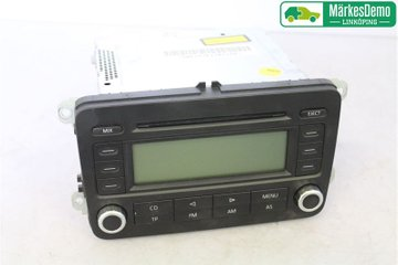 Radio CD / Multimediapanel - VW Passat -06 1K0035186P  1K0035186P