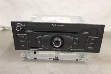 Radio CD / Multimediapanel - Audi A4, S4 -10 8T1057186PX  8T1035186P