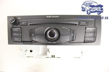 Radio CD / Multimediapanel - Audi A5 -09   8T1035186C