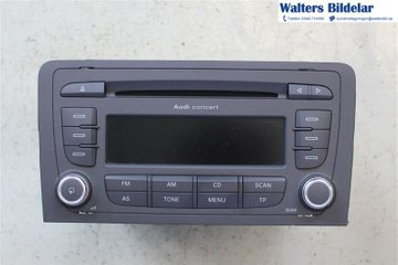 Radio CD / Multimediapanel - Audi A3, S3 -12   8P0035186AB