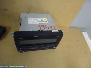 Radio CD / Multimediapanel - VW Golf, e-Golf -11 1K0 057 187 AX