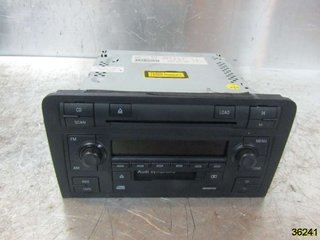 Radio CD / Multimediapanel - Audi A3, S3 -05 8P0057195X  8P0035195