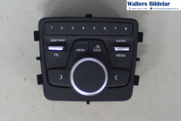 Radio CD / Multimediapanel - Audi A4, S4 -18 8W0919614N  8W0919614N