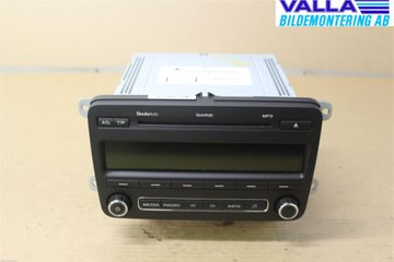 Radio CD / Multimediapanel - Skoda Fabia -13 5J0035161D  5J0035161D