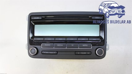 Radio CD / Multimediapanel - VW Golf, e-Golf -10 1K0057187AX  1K0035186AA