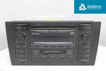 Radio CD / Multimediapanel - Audi A6, S6 -01 4B0035195