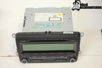 Radio CD / Multimediapanel - VW Golf Plus / Cross Golf -10 5M0035186AA