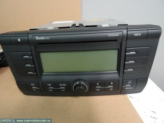 Radio CD / Multimediapanel - Skoda Octavia -06 AAO 600 002 AX 1Z0 035 161 B