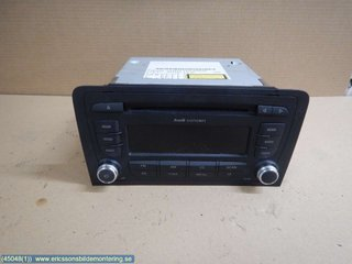Radio CD / Multimediapanel - Audi A3, S3 -08  8P0035186P