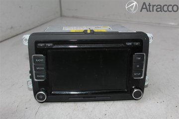 Radio CD / Multimediapanel - VW Passat -10 3C8057195X  3C8035195