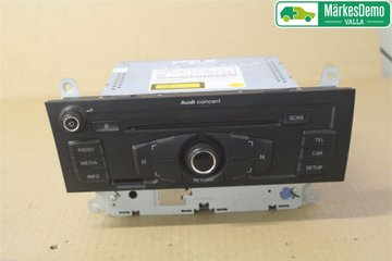 Radio CD / Multimediapanel - Audi A5 -09 8T1057186CX 8T1035186C 8T1035186C