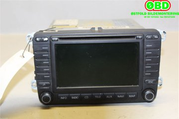 Radio CD / Multimediapanel - VW Touran -05  1T0035194B