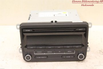 Radio CD / Multimediapanel - VW Polo -12 5M0057186J