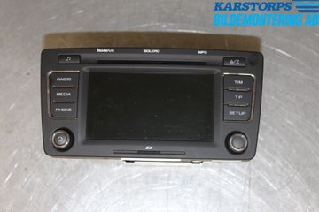 Radio CD / Multimediapanel - Skoda Yeti -10 1Z0035156F  1Z0035156F