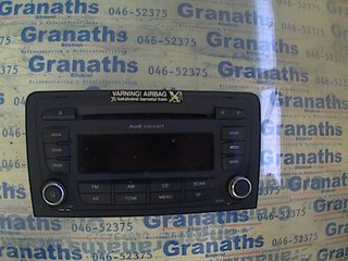 Radio / Stereo - Audi A3, S3 -08 7647026380 8P0035186P