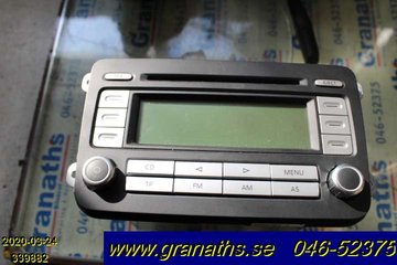 Radio CD / Multimediapanel - VW Passat -07  1K0035186T