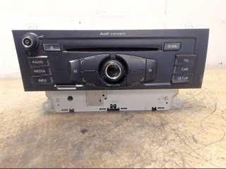 Radio CD / Multimediapanel - Audi A4, S4 -09 8T1057186CX CQ JA1870G  PM6 001 8T1035186C