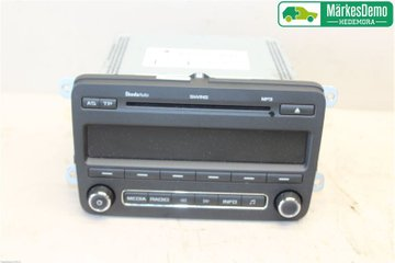 Radio CD / Multimediapanel - Skoda Fabia -11 5J0035161C  5J0035161C