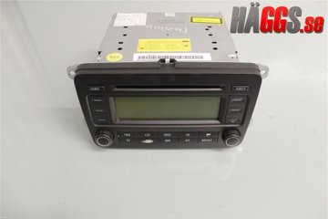 Radio CD / Multimediapanel - VW Touran -05   1K0035195A