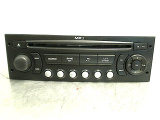 Radio CD / Multimediapanel - Citroen C4 -07 657934 (RP6579PC) 7645138393 BLAUPUNKT 9664769777