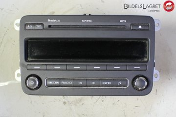 Radio CD / Multimediapanel - Skoda Fabia -13 5J0035161D 28352894