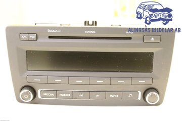 Radio CD / Multimediapanel - Skoda Octavia -11 1Z0035161G  1Z0035161F