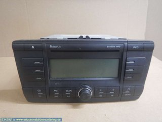 Radio CD / Multimediapanel - Skoda Octavia -08  1Z0035161C
