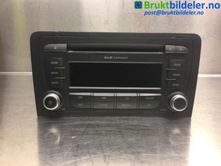 Radio CD / Multimediapanel - Audi A3, S3 -10  7 649 276 380