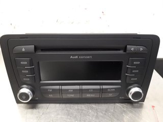 Radio CD / Multimediapanel - Audi A3, S3 -13 8P0057185BX 7640276380 8P0035186AB