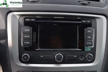 Radio CD / Multimediapanel - Skoda Octavia -13  1Z0035161P