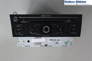 Radio CD / Multimediapanel - Audi A5 -09 8T1035186PX - 8T1035186P