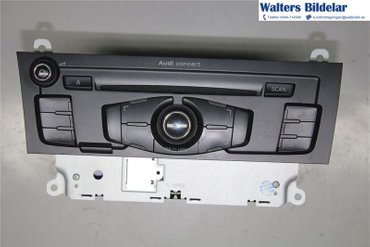 Radio CD / Multimediapanel - Audi A5 -08 8T1057186P - 8T1035186C