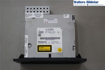 Radio CD / Multimediapanel - Audi A5 -09 - - 8T1035110C