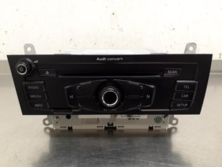 Radio CD / Multimediapanel - Audi A5 -11 8T1057186PX CQ-JA1970G 8T1035186P