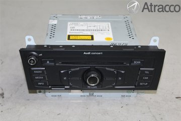 Radio CD / Multimediapanel - Audi A4, S4 -09 8T1057186CX  8T1035186C
