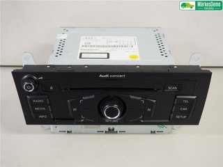 Radio CD / Multimediapanel - Audi A4, S4 -11 8T1057186PX  8T1035186P