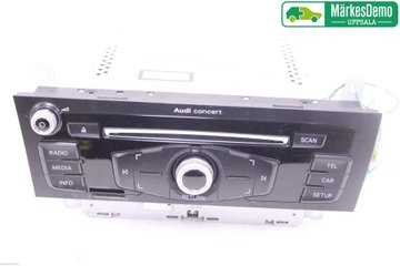 Radio CD / Multimediapanel - Audi A4, S4 -12 8T1057186P  8R1035186