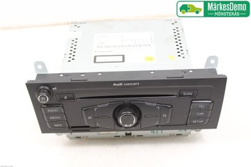 Radio CD / Multimediapanel - Audi A4, S4 -11 8T1 057 186 PX