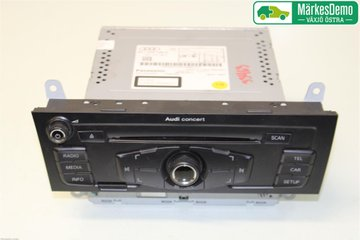 Radio CD / Multimediapanel - Audi A4, S4 -11 8T1057186P