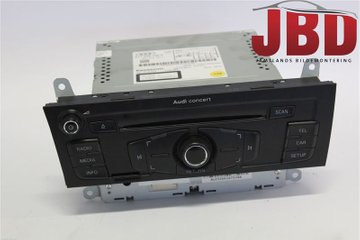 Radio CD / Multimediapanel - Audi A4, S4 -12 8T1057186P  8T1035186P