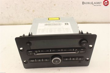 Radio CD / Multimediapanel - Saab 9-5 -06 12772900  12772900