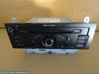 Radio CD / Multimediapanel - Audi A4, S4 -12 8T1 057 186 PX 8T1 057 186 P