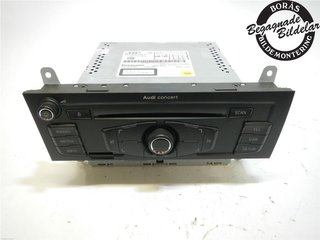 Radio CD / Multimediapanel - Audi A4, S4 -10 8T1057186CX  8T1035186P